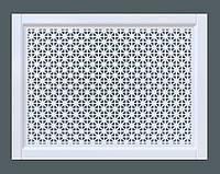 Декоративная решетка на батарею | Экран для радиатора | Накладка на батарею | Сетка на батарею Без отделки, 300*600