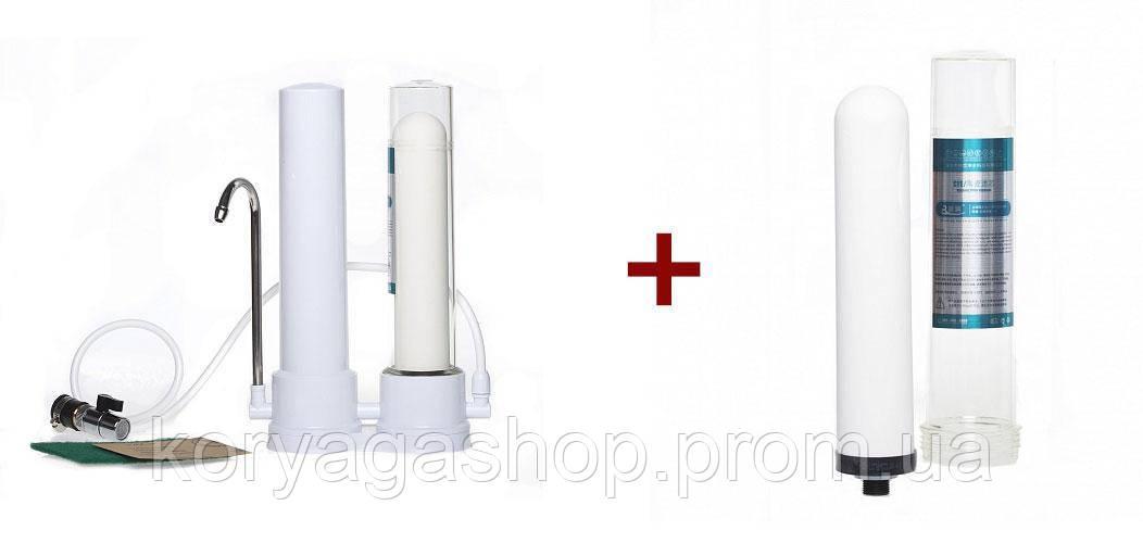 Комплект Фильтр для воды керамический картридж Aqua Mindo
