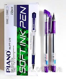 Ручка PIANO PT-175 12шт, фіолетова
