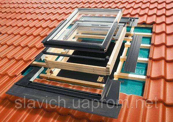 Гідроізоляційний оклад Roto для профільованих покриттів EDR REX WD 1x1 ZIE 74х118