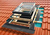 Гідроізоляційний оклад Roto для профільованих покриттів EDR REX WD 1x1 ZIE 74х118, фото 1