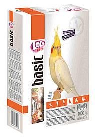 LoLo Pets Полнорационный корм для средних попугаев, 1 кг