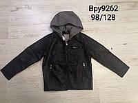 Куртки экокожа на мальчиков , Glo-story, размеры 104,110 рост