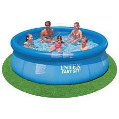 Надувной бассейн INTEX Easy Set Pool 366х76 см. с насосом