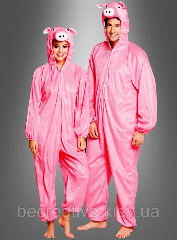 Карнавальный костюм свинки (унисекс)