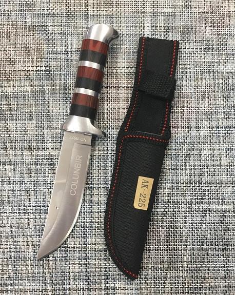 Охотничий нож с чехлом Colunbir В027 / АК-225 (22см)