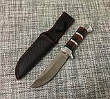 Охотничий нож с чехлом Colunbir В027 / АК-225 (22см), фото 6