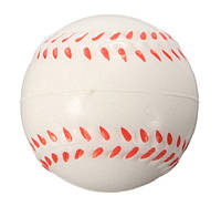 Антистресс Бейсбольный мяч ISHOWTIENDA диаметр 60 мм Белый