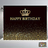 Дизайн ДН БЕСПЛАТНОБанер 2х2,тачки Маквин, на ювілей, день народження. Друк банера |Фотозона|Замовити банер, фото 3