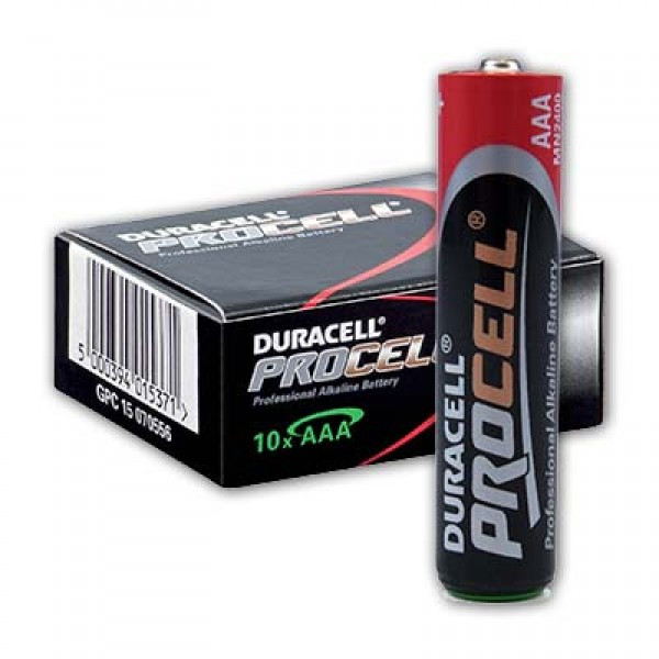 Батарейка DURACELL PROCELL AAA / LR03 (10шт)