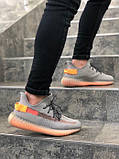 "Стильні кросівки Adidas Yeezy Boost 350 V2 ""Clay"" (Адідас Ізі Буст 350), фото 2"