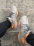"Стильні кросівки Adidas Yeezy Boost 350 V2 ""Clay"" (Адідас Ізі Буст 350), фото 4"