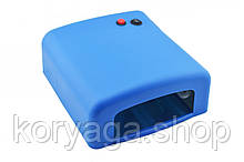 Ультрафиолетовая лампа для ногтей 36Вт K818 синий #S/O