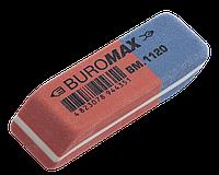 Ластик с абразивной частью красный 42*14*8mm Buromax BM.1120