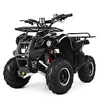 Электрический квадроцикл Profi HB-EATV 1000D-2 (MP3) черный