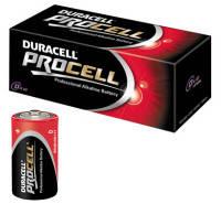 Батарейка DURACELL PROCELL D/LR20 (10шт)