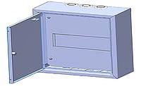 Щит распределительный навесной КН-06 на 6 модулей