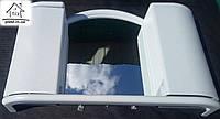 Шкафчик с зеркалом для ванной Арго (белый)