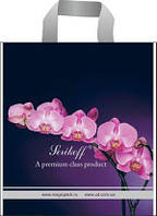 Пакеты Пакет с петлевой ручкой 45*43+3см/100 Орхидея фиолетовая (25 шт) 0170193