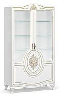 Витрина в гостиную 2В Мебель Сервис Милан белый