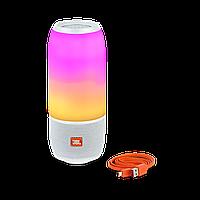 Портативная колонка со светомузыкой  Pulse 3 Mini (Белая), фото 1
