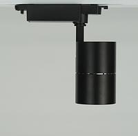 Трековый светильник 30Вт 4000K черный AL103 COB, фото 1