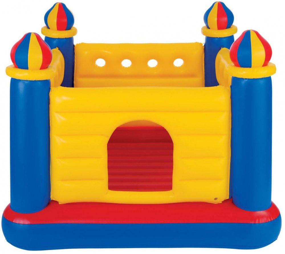 Детский надувной батут Intex 48259 «Замок» 175*175*135см