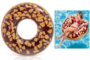 """Надувний матрац """"Шоколадний пончик"""" 56262SH INTEX 114 см"""