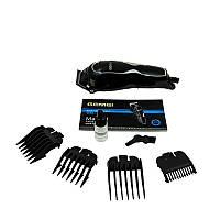 Машинка - триммер для стрижки волос Gemei GM-817 с насадками