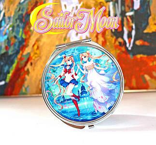 "Карманное зеркальце  ""Близнец"" Сейлор Мун / Sailor Moon"