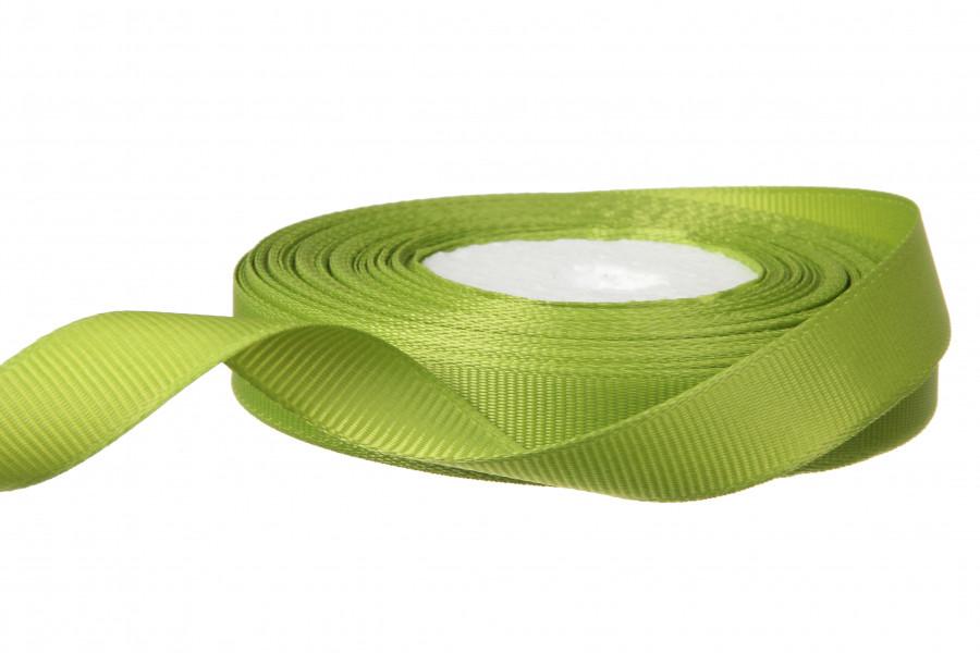Репсова стрічка 1.2 см колір оливковий 18 м - 19 грн