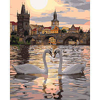 Картина по номерам Романтическая Прага 40 х 50 см ТМ Идейка КНО4135