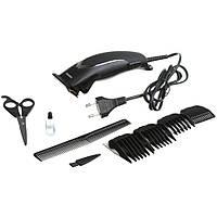 Машинка - триммер для стрижки волос Gemei GM-809 с насадками