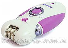 Эпилятор 3 в 1 Nikai 7698 с бритвенной насадкой Violet #S/O