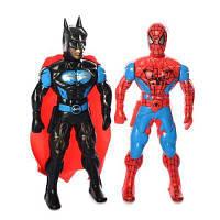 Супергерой 525 світло, 2 види (BT,СП), на бат, в кульку 21-24-3 см