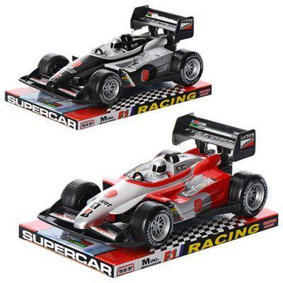 Машинка 8068 инер-я, гоночная,, 2 цвета, в слюде 24,5-15,5-11 см
