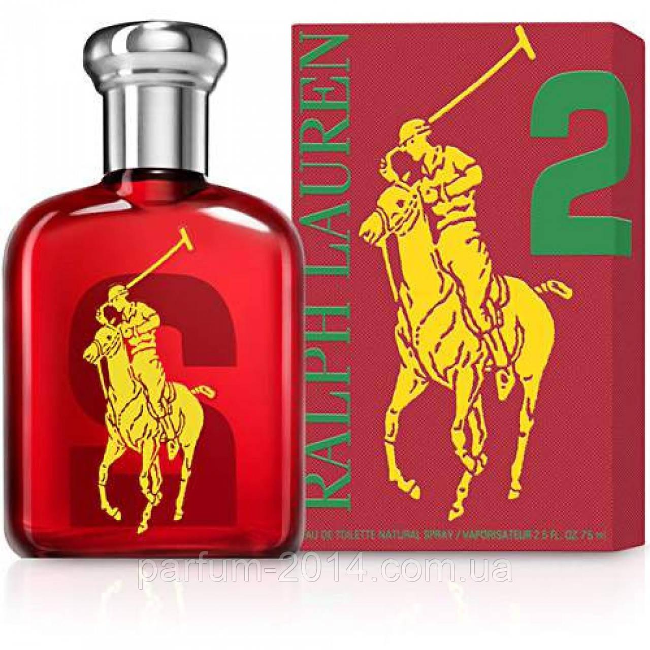 Мужская туалетная вода Ralph Lauren polo pony 2 red (реплика)