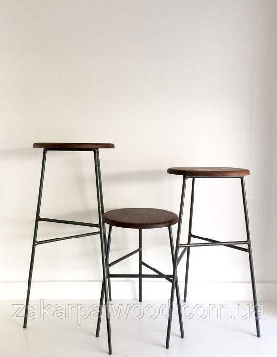 Барный стул лофт 50см (L_220)
