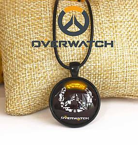 Кулон Overwatch с логотипом игры