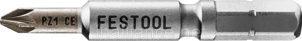Бит Pozidriv PZ 1-50 CENTRO/2 Festool 205069