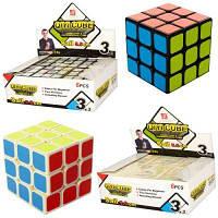 Кубик-Рубика EQY519 5,5 см, в кульке, 2 вида, 6 шт в дисплее (цена за  1 шт)