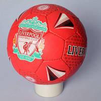 Мяч футбольный 2500-118 размер 5, ПУ1,4 мм, ручн. работа, 32 панели,400-420 г,3 в (клубы), в кульке