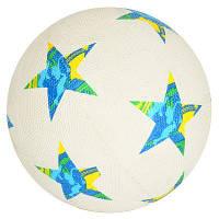 М'яч футбольний VA-0012 розмір 5, гума Grain,350-370 г, сітка, голка, в кульку