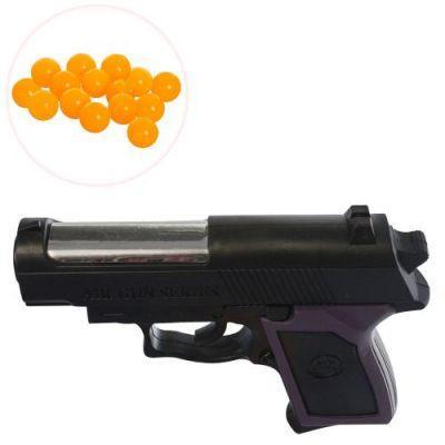 Пистолет MX809 на пульках, 12см, в кульке 12-9-2,5см