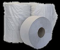 """Туалетная бумага Бумага туалетная макулатурная """"Джамбо"""" 100м  на гильзе Buroclean 10100053"""