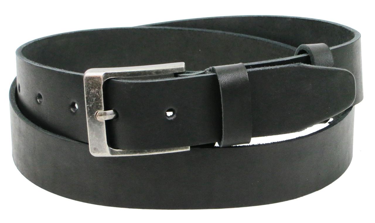 Шкіряний ремінь чоловічий під джинси Skipper 1294-40