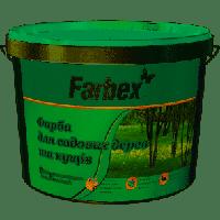 Фарба для садових дерев, біла матова, ТМ Farbex -4 кг