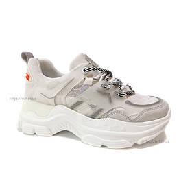 Кроссовки женские AllShoes White 102-65009