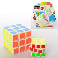 Кубик Рубика MF9340C 2шт(3,5см и 5,5см), пластик, в слюде 19-20-8смпластмаса