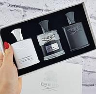 Подарочный набор парфюмерии для мужчин Creed 3*30ml